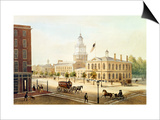 State House, Philadelphia Posters by Augustus Kollner