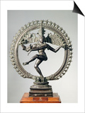 Shiva Nataraja, Tamil Nadu, Late Chola Poster