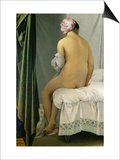 "The Bather, Called ""Baigneuse Valpincon,"" 1808 Print by Jean-Auguste-Dominique Ingres"