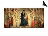 The Maesta, 1308-11 Plakat af  Duccio di Buoninsegna