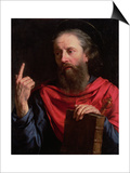 St.Paul Prints by Philippe De Champaigne