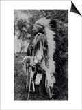 White Wolf, a Comanche Chief, circa 1891-98 Prints