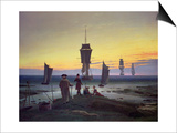 The Stages of Life, circa 1835 Posters by Caspar David Friedrich