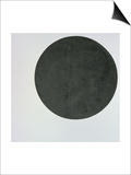 Black Circle, c.1920 Art by Kasimir Malevich