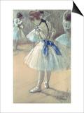 Edgar Degas - Dansçı - Poster