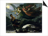 Justice and Divine Vengeance Pursuing Crime, 1808 Prints by Pierre-Paul Prud'hon