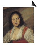 The Gypsy Woman, circa 1628-30 Posters by Frans Hals