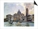 Palazzo Labia, Venice Prints by John Singer Sargent