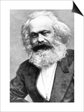 Karl Marx Plakater af Russian Photographer