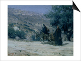 Flight into Egypt, 1899 Posters by Henry Ossawa Tanner