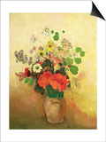 Vase of Flowers, C.1908-10 Prints by Odilon Redon