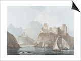 East View of the Forts Jellali and Merani, Muskah, Arabia, June 1793 Posters by Thomas Daniell