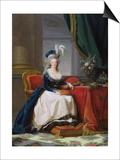 Marie-Antoinette (1755-93) 1788 Prints by Elisabeth Louise Vigee-LeBrun