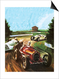 Tazio Nuvolari Prints by Graham Coton