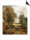 The Cornfield, 1826 Prints by John Constable