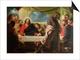 The Last Supper, 1786 Posters by Benjamin West