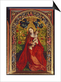 Madonna of the Rose Bower, 1473 Posters by Martin Schongauer