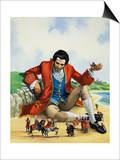 Gulliver's Travels Prints by Nadir Quinto