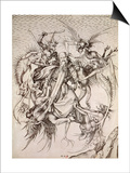 The Temptation of St. Anthony Prints by Martin Schongauer