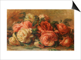 Discarded Roses Posters by Pierre-Auguste Renoir