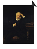Portrait of Victor Hugo (1802-85) 1879 Prints by Leon Joseph Florentin Bonnat