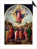 Assumption of the Virgin Posters by Jacopo Palma