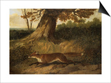 Fox on the Run Prints by John Frederick Herring I
