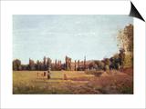La Varenne De St. Hilaire, 1863 Posters par Camille Pissarro