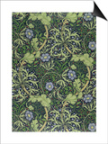 Seaweed Wallpaper Design, printed by John Henry Dearle Art by William Morris
