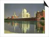 The Taj Mahal, 1874-76 Kunstdrucke von Vasilij Vereshchagin