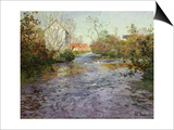 The Blue Water Prints by  Thaulow