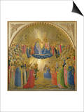 The Coronation of the Virgin, c.1440 Prints by  Fra Angelico
