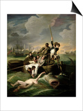 Watson and the Shark, 1782 Prints by John Singleton Copley