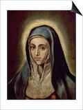 The Virgin Mary, c.1594-1604 Prints by  El Greco