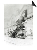 Train Accident at the Gare Montparnasse in Paris on 22nd October 1895 Prints