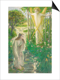 The Annunciation Prints by Dante Gabriel Rossetti