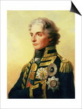 Portrait of Lord Horatio Nelson Posters by Friedrich Heinrich Fuger