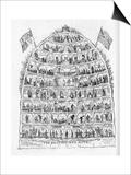 The British Beehive, 1867 Prints by George Cruikshank