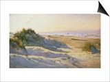 The Dunes, Sonderstrand, Skagen Prints by Holgar Drachman
