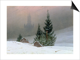 Winter Landscape, C.1811 Prints by Caspar David Friedrich