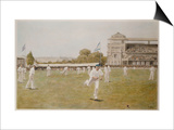 Cricket at Lords, 1896 Plakater av William Barnes Wollen