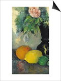 Flowers and Fruit, circa 1886 Prints by Paul Cézanne