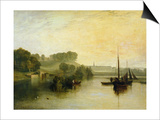 Petworth, Sussex, the Seat of the Earl of Egremont: Dewy Morning, 1810 Prints by J. M. W. Turner
