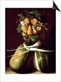 Whimsical Portrait Plakater af Giuseppe Arcimboldo