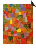 Paul Klee - Mountain Village Plakát
