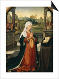 St.Anne Conceiving the Virgin Posters by Jean The Elder Bellegambe