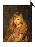 Portrait of a Girl Posters by John William Waterhouse