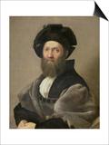 Portrait of Baldassare Castiglione Before 1516 Posters par  Raphael