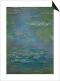 Waterlilies, Detail, 1903 Posters by Claude Monet
