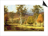 Natives in the Eucalypt Forest on Mills Plains, Patterdale Farm Prints by John Glover